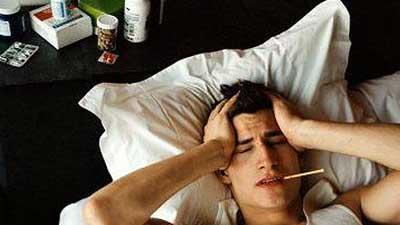 Tidur Karena Sakit