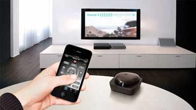 Smartphone sebagai remote universal melalui aplikasi WatchOn dan sejenisnya