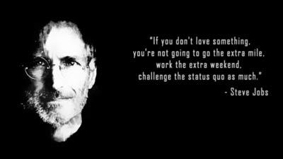 Anda harus berani menantang status quo - Steve Jobs