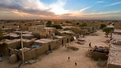 Timbuktu, Mali merupakan satu dari 10 tempat paling panas yang ada di planet kita