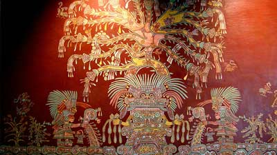 Tlalocan adalah gambaran surga dalam Mitologi Aztec