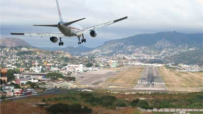 Toncotin Airport Honduras