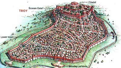 Troy adalah salah satu kota hilang paling terkenal di dunia