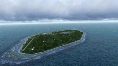 Tuvalu adalah salah satu negara terkecil di dunia dengan luas hanya 23 km persegi