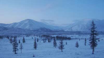 Verkhoyansk di Rusia adalah salah satu tempat paling dingin yang ada di dunia
