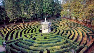 Villa Pisani Labirinto adalah salah satu labirin paling rumit yang ada di dunia