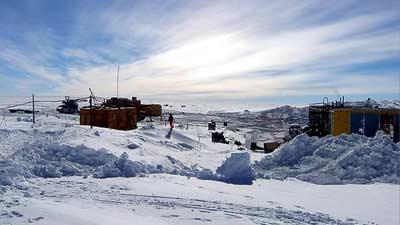 Stasiun Penelitian Rusia Vostok secara resmi merupakan tempat terdingin yang ada di dunia