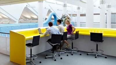 Warna yang mendukung dalam kantor adalah salah satu fatkor kantor ideal