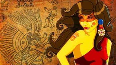 xochiquetzal, Dewi Dalam mitologi Aztec yang berperang penting dalam kehidupan wanita