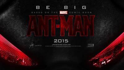 Cover untuk film ant-man Marvel