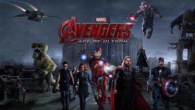Cover dari film The Avengers: Age of Ultron