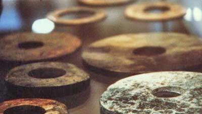 Batu dropa dari zaman purbakala