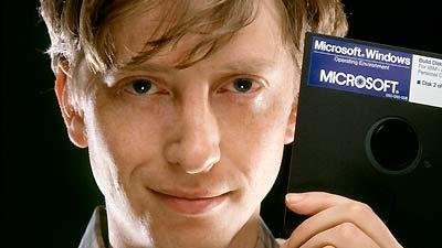 Bill Gates berhenti kuliah untuk mengembangkan microsoft