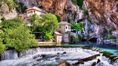 Blagaj Tekke di Bosnia dan Herzegovina