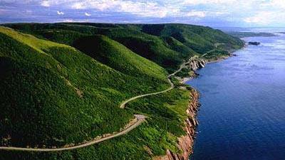 Cabot Trail di Nova Scotia, Kanada