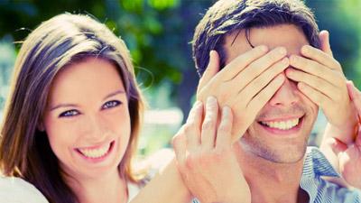 Cinta buta pria dan wanita