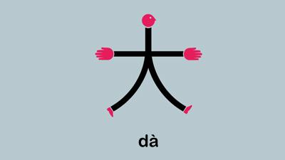 Kata da yang berarti besar di chineasy bahasa cina
