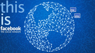 Facebook menghubungkan dunia