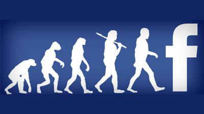 evolusi perubahan dari monyet hingga ke facebook