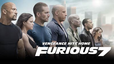 Cover film Fast and Furious 7 2015