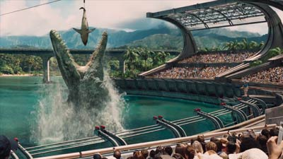 Cutscene film Jurassic World