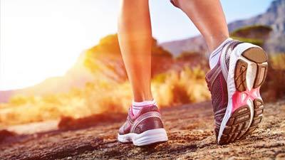 Jogging bersinarkan matahari