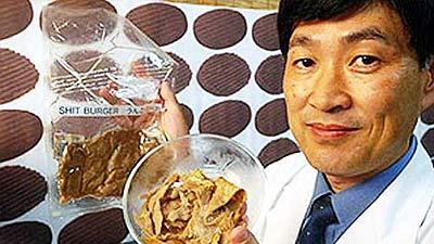 Burger kotoran professor mitsuyuki ikdea