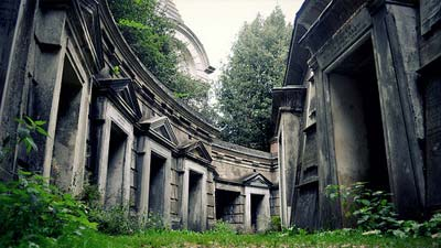 Kuburan highgate yang mengerikan