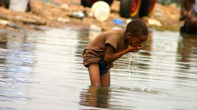 Kurangnya air bersih di Afrika