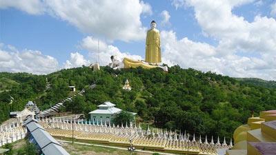 Patung Laykyun Setykar dari Monywa, Myanmar