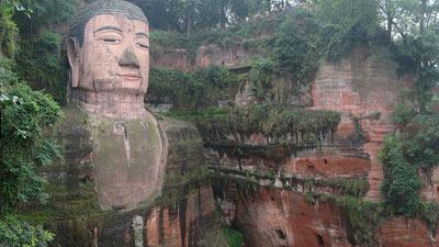 Leshan Giant Buddha di Leshan, Cina
