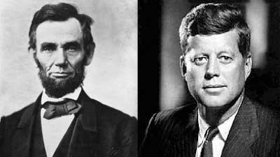 Lincoln dan Kennedy memiliki hubungan yang aneh