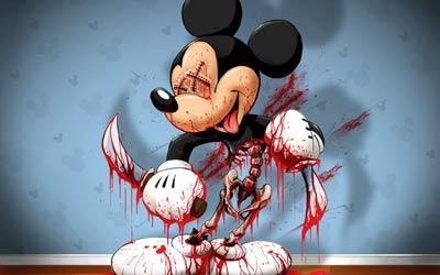 Mickey dimutilasi menyerupai Ling Chi