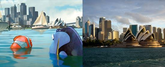 Lokasi Finding Nemo adalah di Great Barrier Reef dan Sydney, Australia