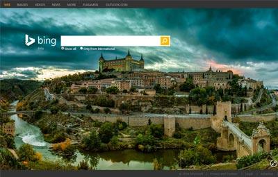 Bing adalah mesin pencari popular kedua di Internet