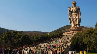 Patung tertinggi dunia Spring Temple Buddha