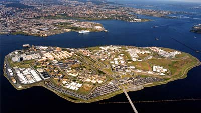 Penjara Pulau Riker di New York US