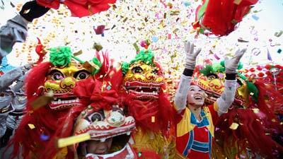 Perayaan imlek tahun baru Cina