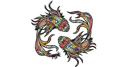 Cerita mitologi dari bagaimana konstelasi pisces dikenal sebagai zodiak pisces
