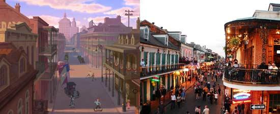 Lokasi nyata New Orleans dari film animasi Princess and The Frog Disney