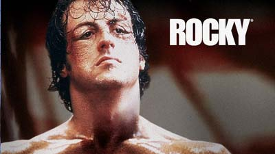 Salah satu cover film the rocky