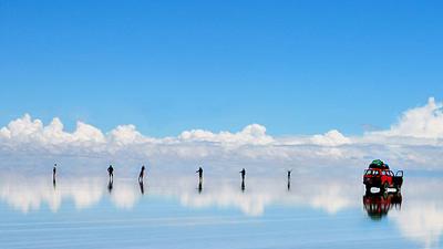 Salar de Uyuni di Bolivia
