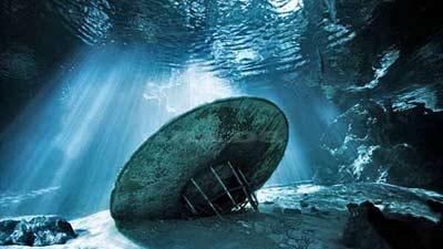 Segitiga bermuda ufo di dalam laut