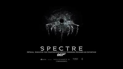 Cover film Spectre James Bond