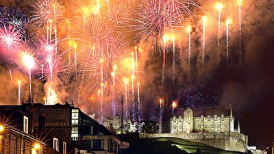 Tahun baru di Skotlandia