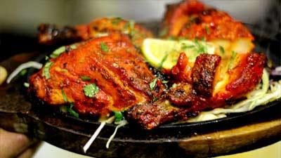 Tandoori Chicken Lezat di India