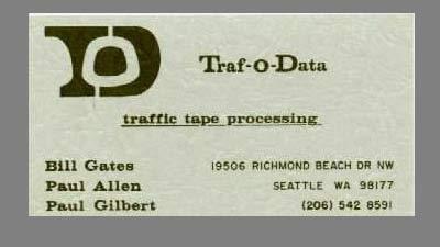 Traf O Data adalah perusahaan Bill Gates pertama yang gagal
