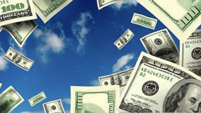 Uang yang jatuh dari langit