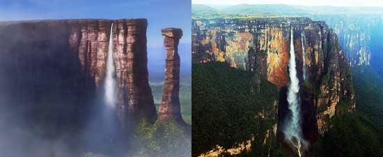 Film animasi Up Disney/Pixar berdasar pada lokasi nyata Angel Falls di Venezuela