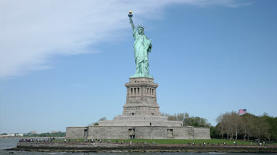 Patung Liberty di New York, USA